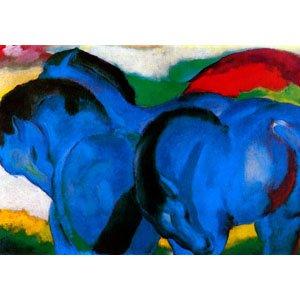 Franz Marc Die Kleinen Blauen Pferde Sharelock Puzzle